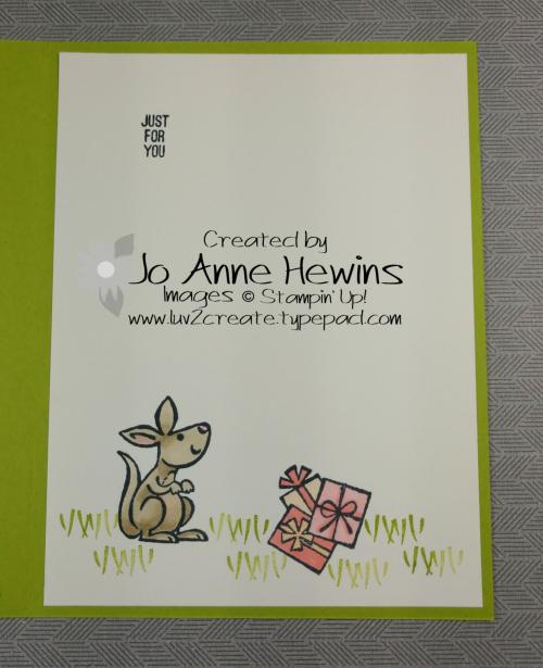 Kangaroo & Company Inside by Jo Anne Hewins