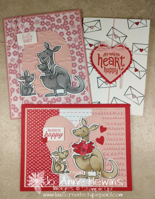 Kangaroo & Company Card Group by Jo Anne Hewins