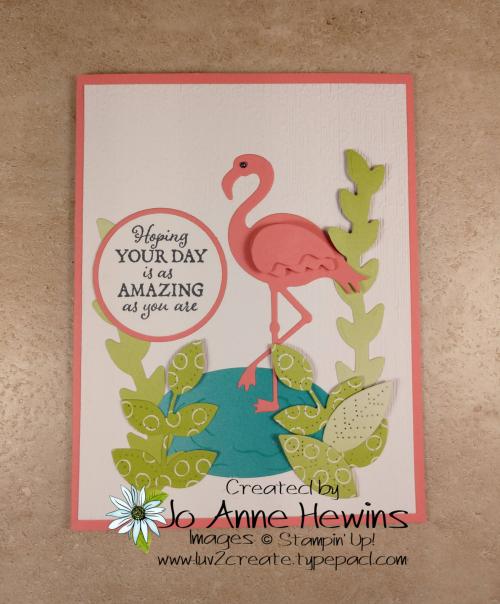 Friendly Flamingo bundle by Jo Anne Hewins