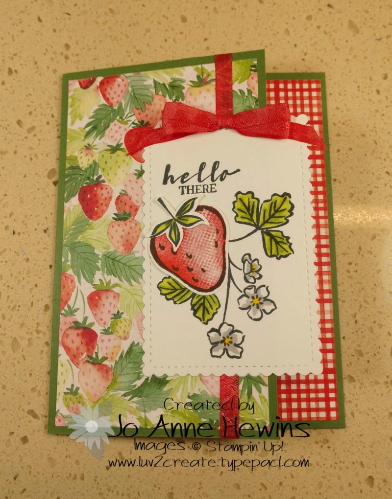 Sweet Strawberry Class Strawberry by Jo Anne Hewins
