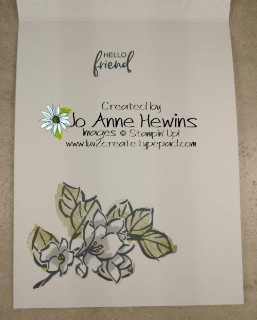Tutorial Medley February Inside by Jo Anne Hewins