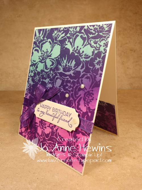 Color Fusers Wild Roses Made by Jo Anne Hewins