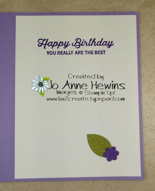 CCMC #649 In Bloom Bundle Inside by Jo Anne Hewins