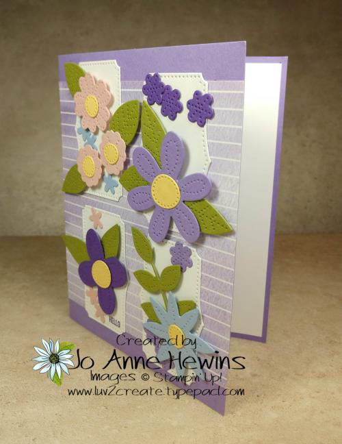 CCMC#649 In Bloom Bundle Card by Jo Anne Hewins