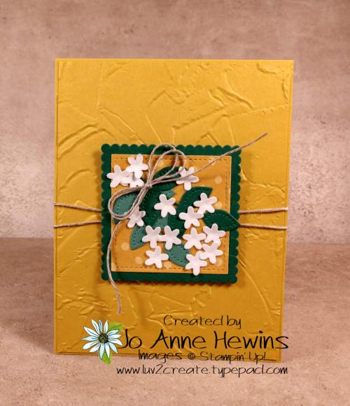 In Bloom Flower & Field Card by Jo Anne Hewins