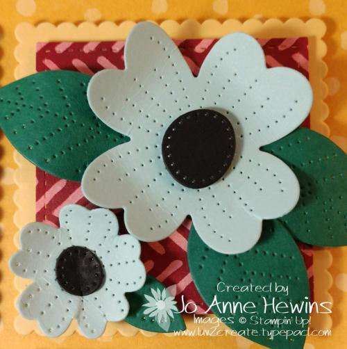 In Bloom Flower & Field Block 3 by Jo Anne Hewins