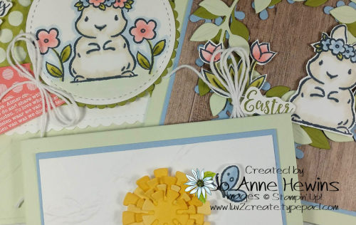 Springtime Joy Class Trio Teaser by Jo Anne Hewins