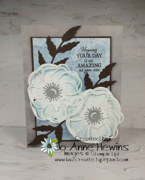 Color Fusers Poppy Moments Project by Jo Anne Hewins