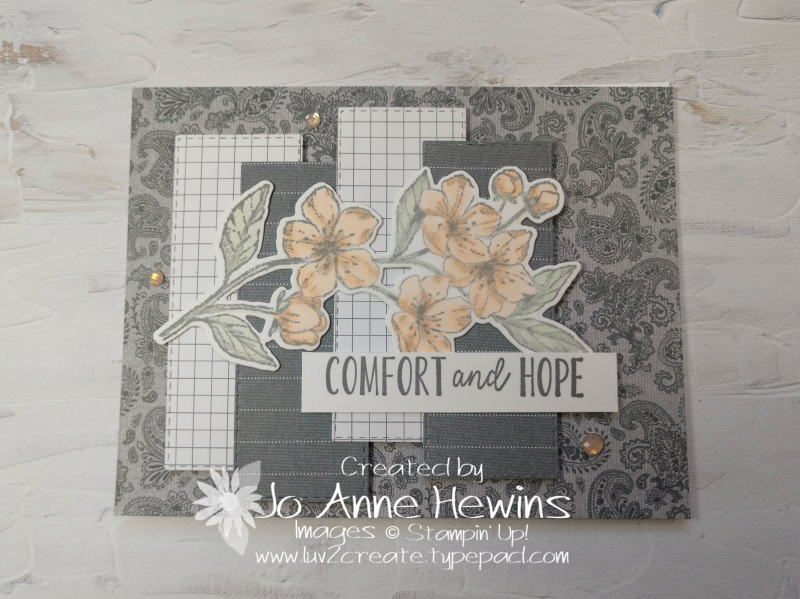 CCMC #653 Forever Blossoms Card by Jo Anne Hewins