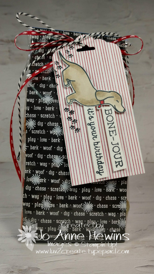 OSAT Hot Dog Treat Bag by Jo Anne Hewins