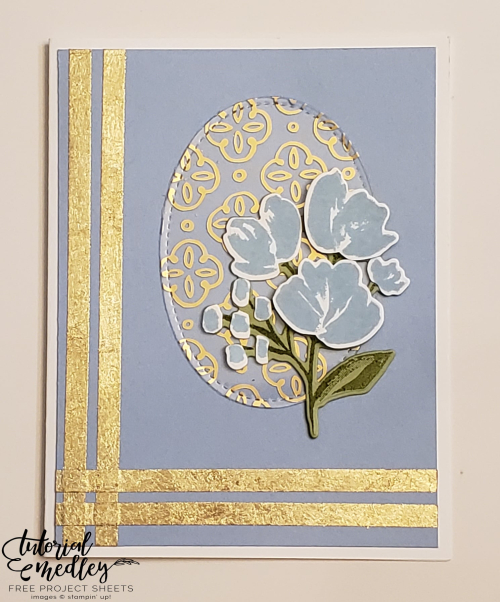 Tutorial Medley Art Gallery with Gold