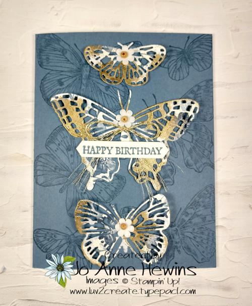 Butterfly Boho by Jo Anne Hewins