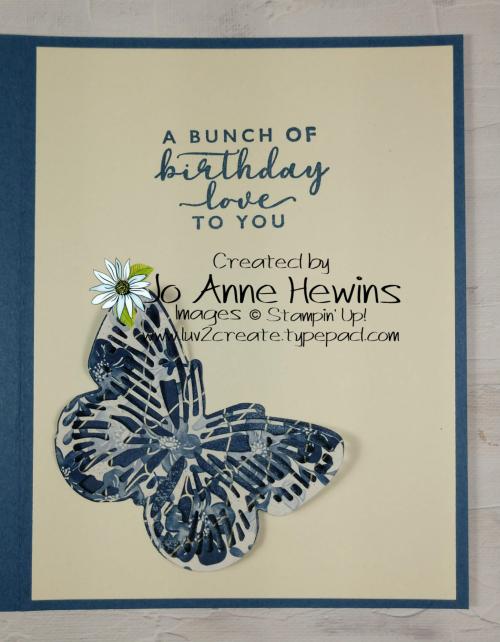 Butterfly Boho Inside by Jo Anne Hewins