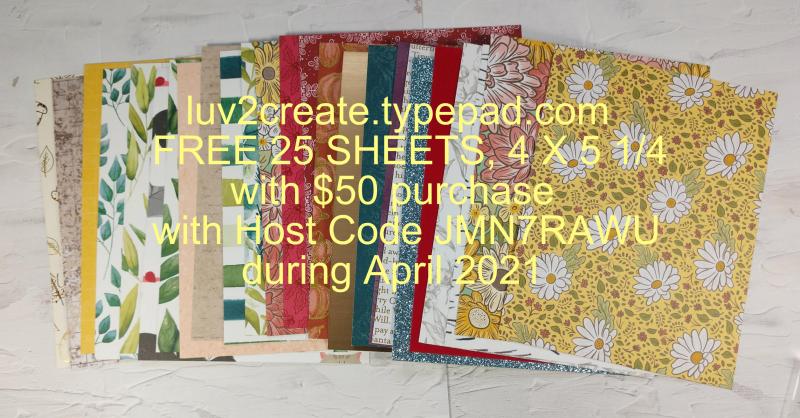 April offer by Jo Anne Hewins