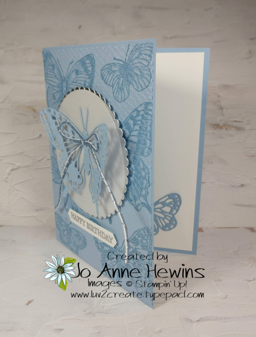 Brilliant Butterfly Project by Jo Anne Hewins