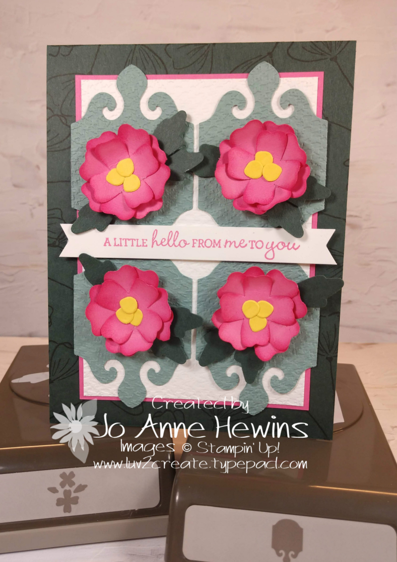 NC Blog Hop Pleased as Punch Project by Jo Anne Hewins