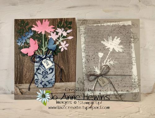 Quiet Meadow Card Duo by Jo Anne Hewins
