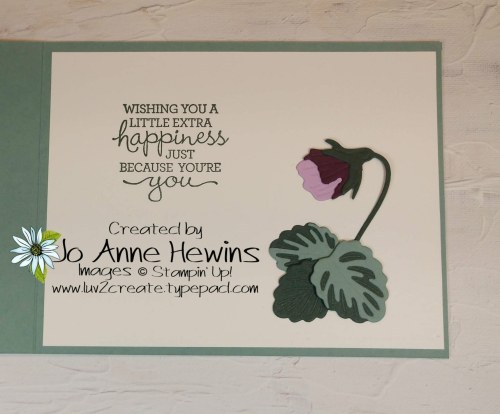 Pansy Patch Project by Jo Anne Hewins