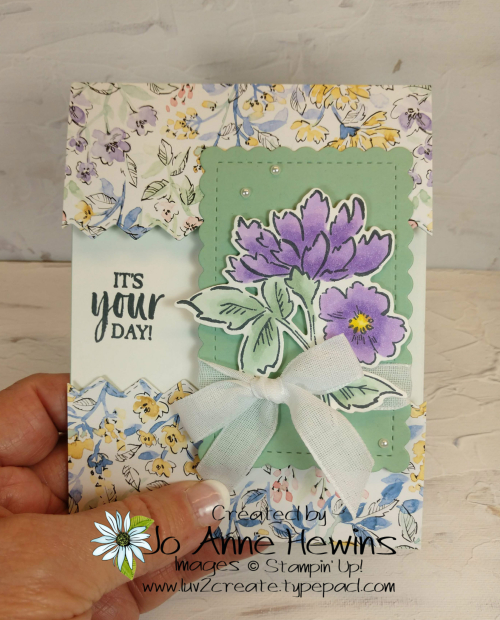 OSAT Hand-Penned Card Project by Jo Anne Hewins