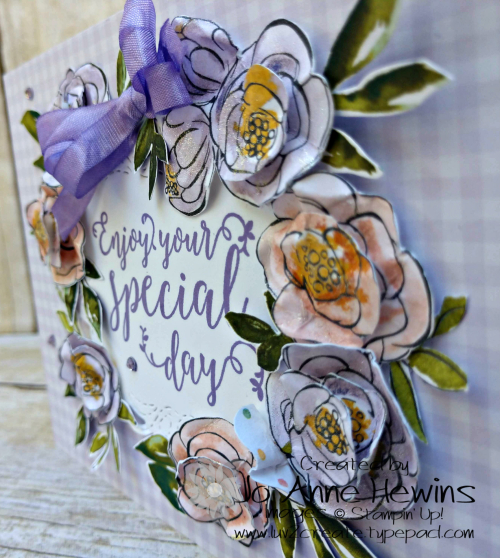 Best Dressed Birthday Card Project by Jo Anne Hewins