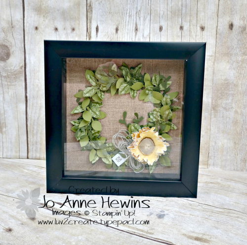 NC Blog Hop Painted Harvest Frame in Frame by Jo Anne Hewins
