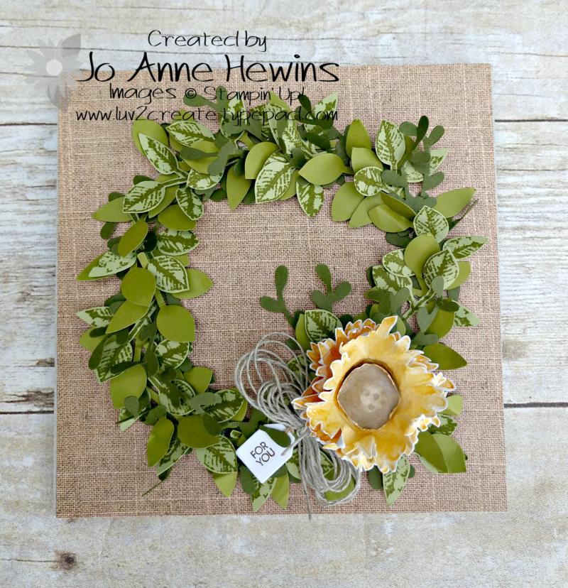 NC Blog Hop Painted Harvest Frame No Frame by Jo Anne Hewins