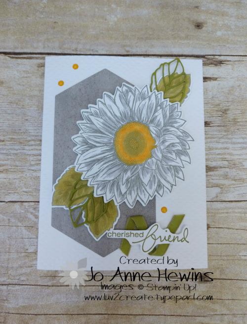 Celebrate Sunflowers NC Swap by Jo Anne Hewins