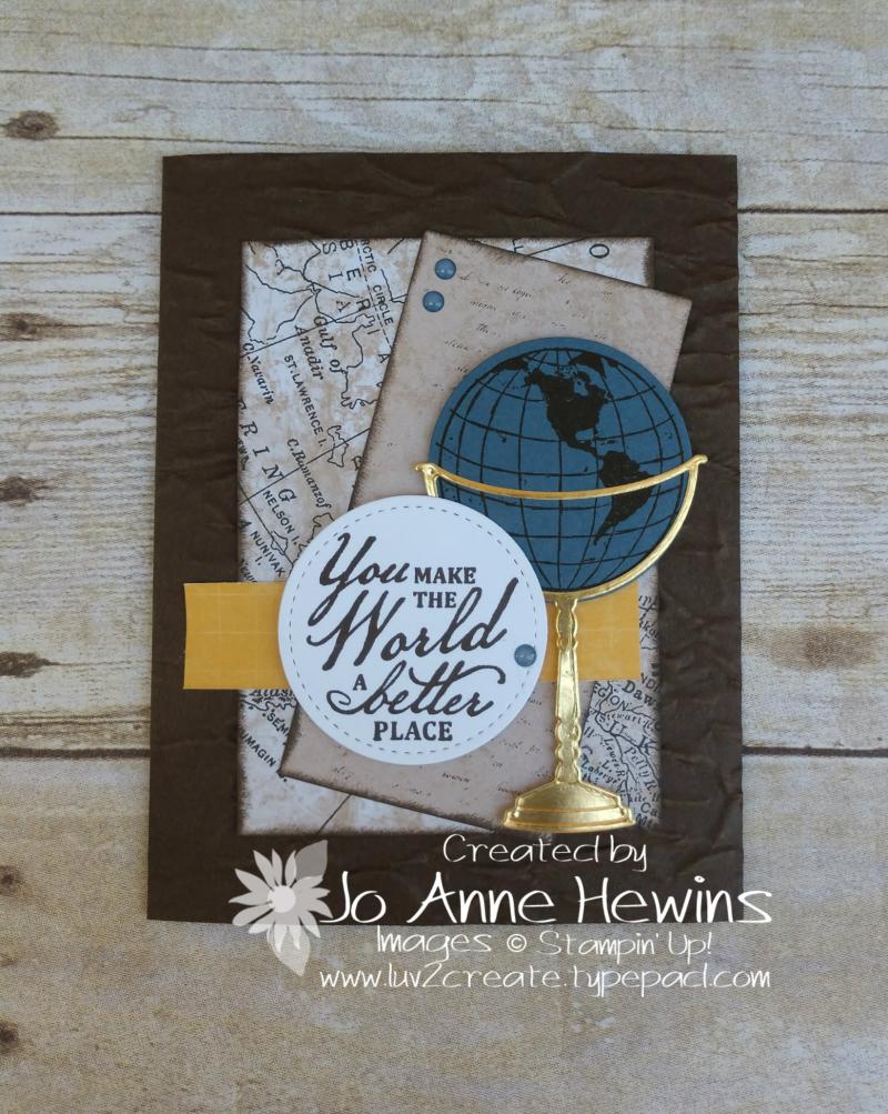 CCMC #616 Beautiful World by Jo Anne Hewins