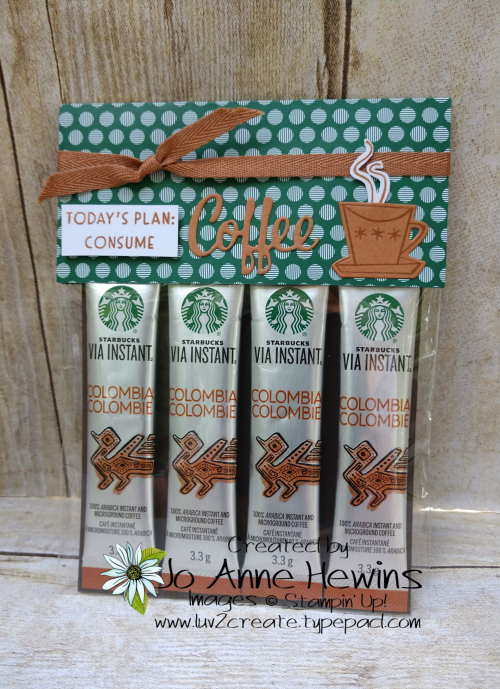 Nothing's Better Than Starbucks Coffee Holder by Jo Anne Hewins