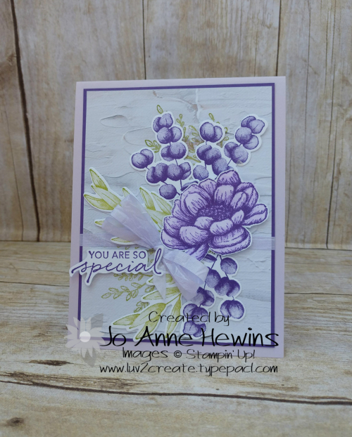 Color Fusers Tasteful Touches for August Card by Jo Anne Hewins