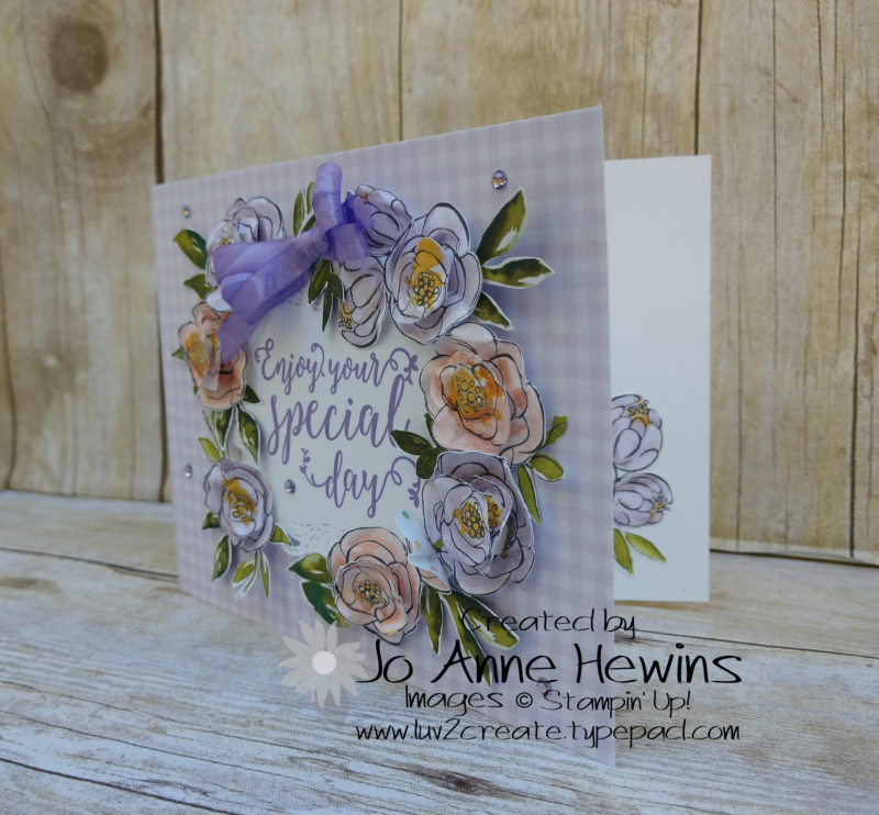 Best Dressed Birthday Project by Jo Anne Hewins