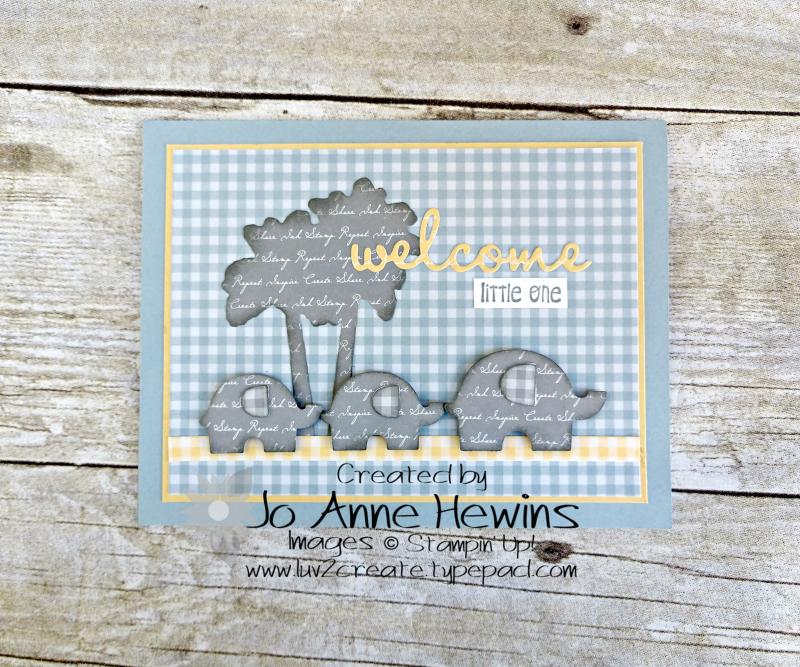 CCMC #613 Little Elephant by Jo Anne Hewins