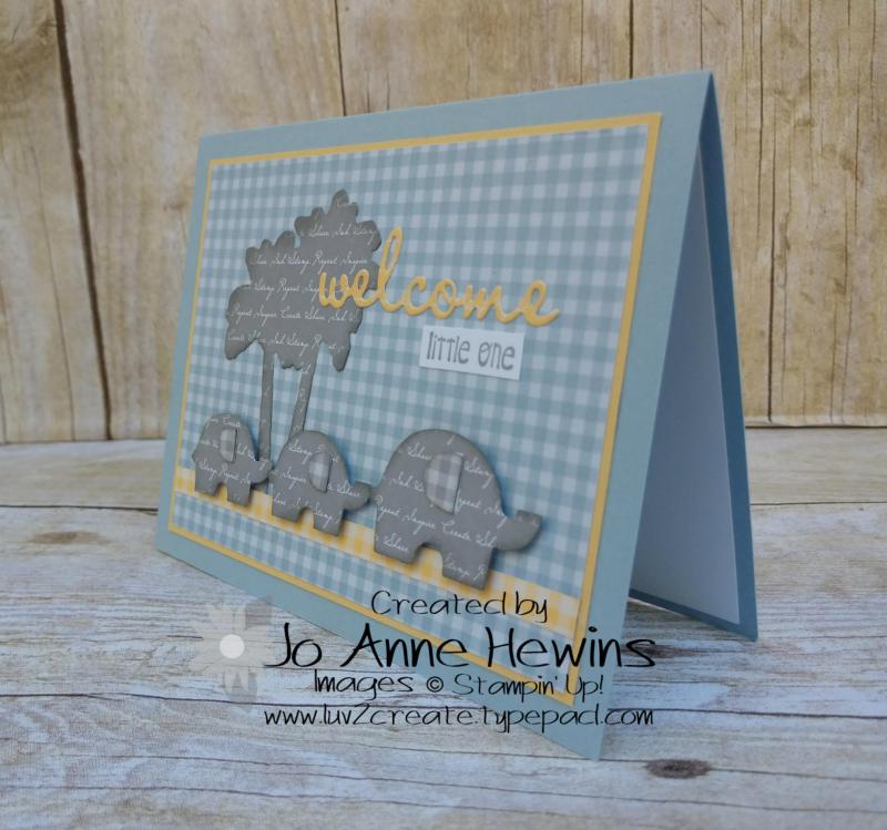 CCMC#613 Little Elephant Project by Jo Anne Hewins