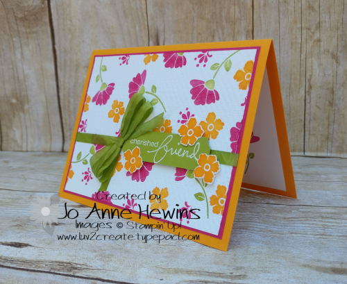 CCMC#617 Lovely You Card by Jo Anne Hewins