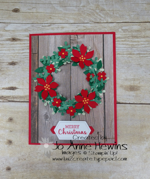 Arrange a Wreath by Jo Anne Hewins