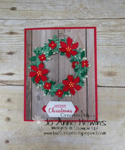 Arrange a Wreath by Jo Anne Hewins