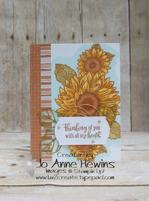 CCMC#619 Celebrate Sunflowers by Jo Anne Hewins