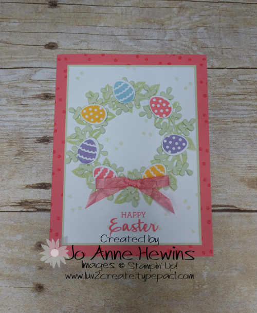 Arrange a Wreath Easter by Jo Anne Hewins