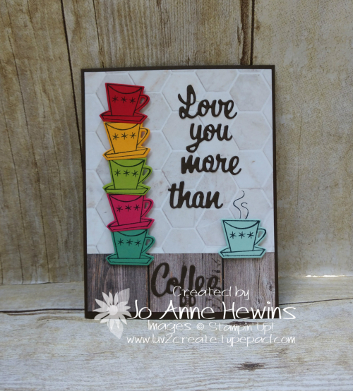 Nothing's Better Than Coffee Card by Jo Anne Hewins