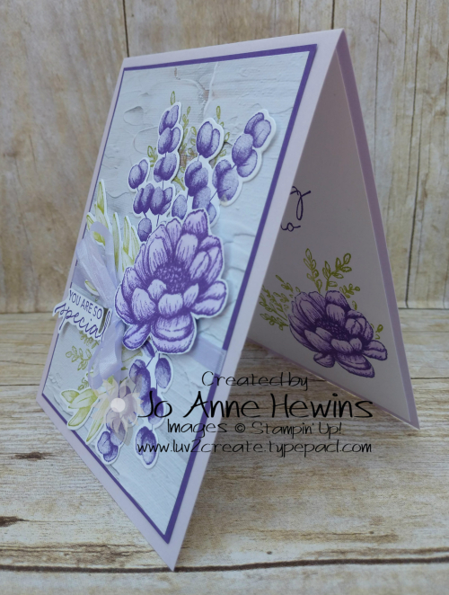 Color Fusers Tasteful Touches for August Project by Jo Anne Hewins