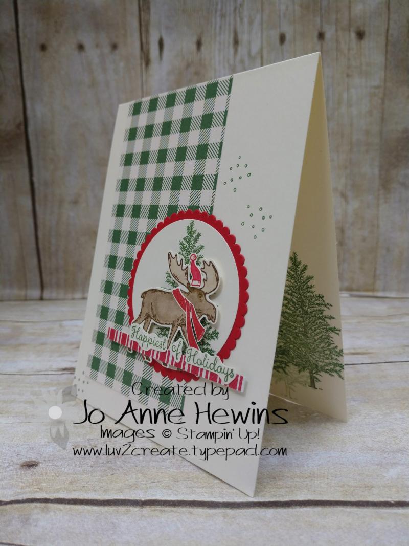 CCMC#625 Merry Moose by Jo Anne Hewins