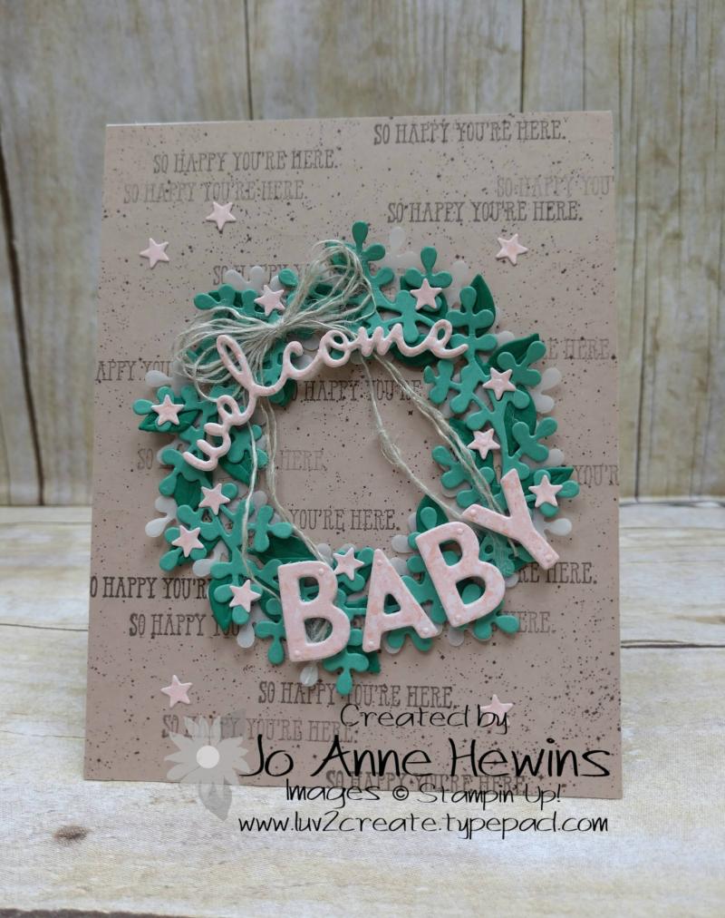 OSAT August New Beginnings by Jo Anne Hewins