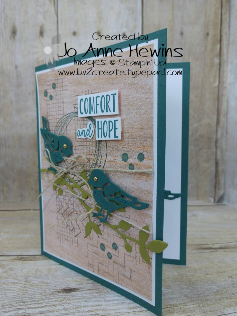 Comfort and Hope Project by Jo Anne Hewins