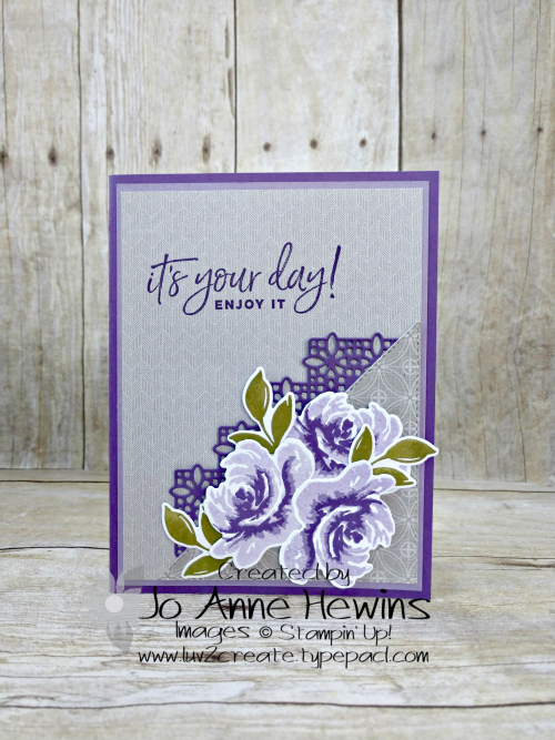 All Things Fabulous Project by Jo Anne Hewins