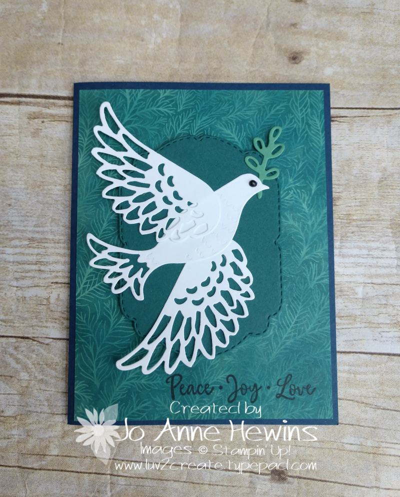 CCMC #628 Dove of Hope by Jo Anne Hewins
