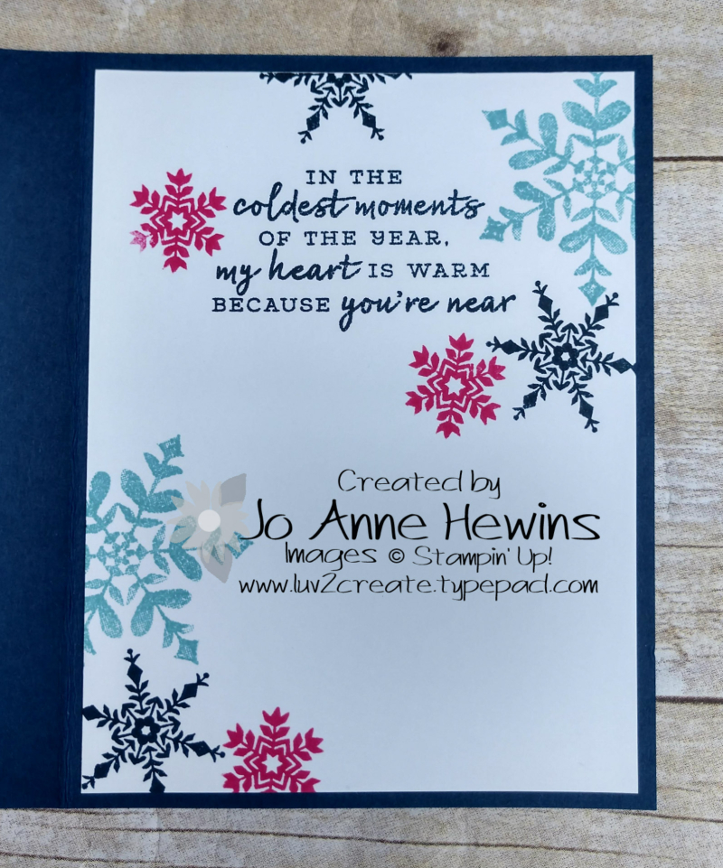 Snowflake Wishes Inside by Jo Anne Hewins