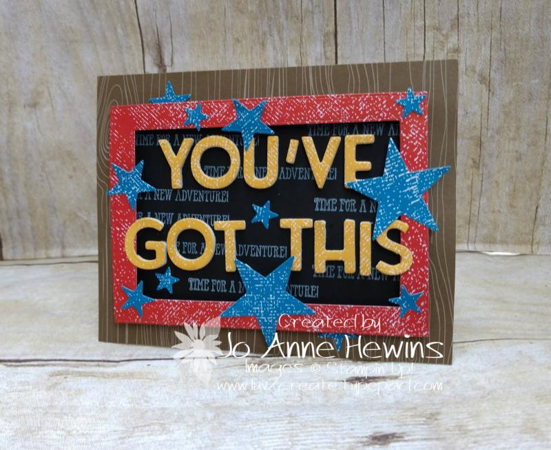 OSAT September You've Got That! Card by Jo Anne Hewins