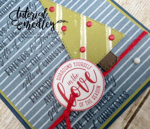 Tutorial Medley October Wrapped in Christmas Close Up