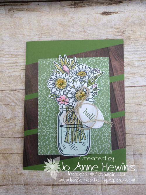 Jar of Flowers by Jo Anne Hewins