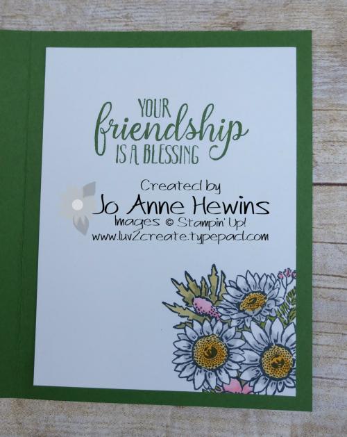 Jar of Flowers Inside by Jo Anne Hewins